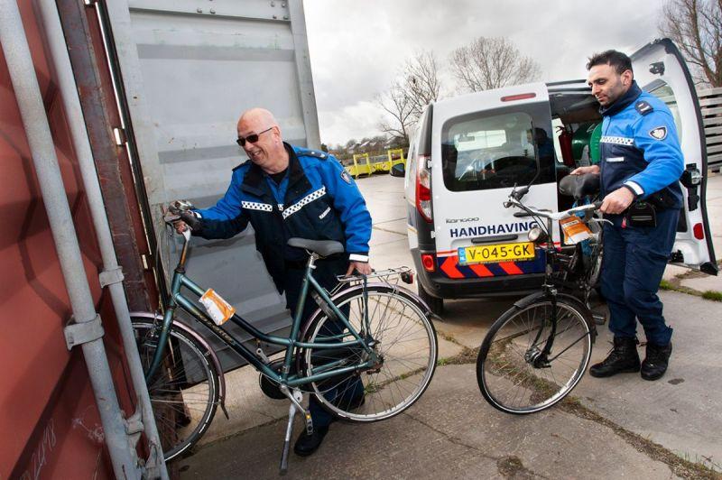 <strong>Handhaving gevonden fietsen</strong>