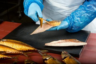 <strong>vis fileren</strong><br><p>Makreel fileren bij Mooijer Volendam B.V., groothandel in vis- en zeevruchten, horecaleverancier</p>